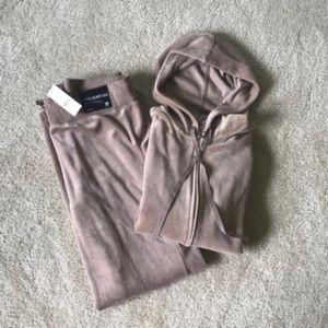 New York & Company Velour Track Suit
